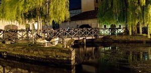Passerella meravigliosa anche alla sera – Portogruaro serale