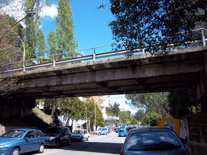 Un ponte a Cosenza