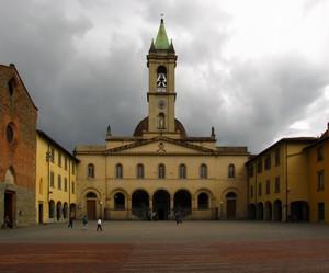 Una piazza di San Giovanni Valdarno
