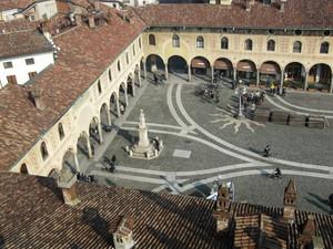 Vista sui portici