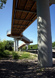 ..il ponte bicipedonale…