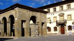 """La """"Piazza"""" di Castel San Niccolò"""