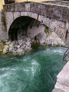 Impetuose acque verdi