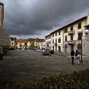 La piazza dell'Antella