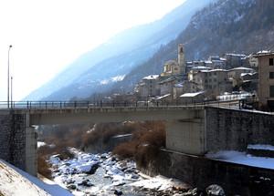 Un ponte a Torre di Santa Maria