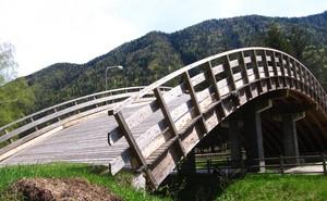 un ponte per sciare