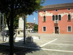 Piazza del municipio di Meolo