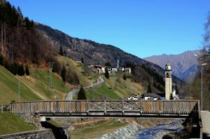Ponte in legno di Gerola Alta
