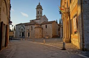 San Quirico d'Orcia – Piazza Chigi