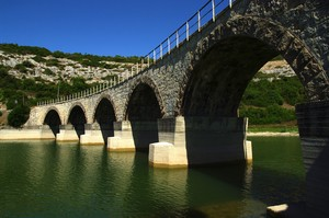 Antico ponte delle ferrovie Sarde