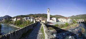 Panoramica dal ponte antico