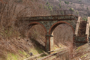 pedonale sulla ferrovia