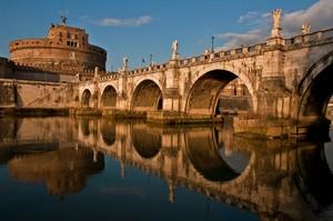 Riflesso-Ponte Sant'Angelo Roma