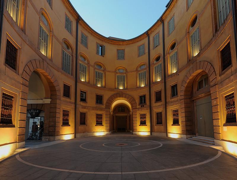 ''Alba in Piazzetta del Teatro'' - Ferrara