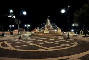 Piazza XVI marzo 1978 by night