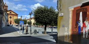 Garibaldi in Piazza a Sinalunga!