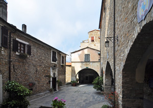 Le case di pietra in Liguria