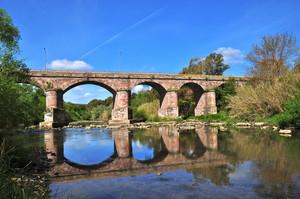 Ponte sul fiume Tirso