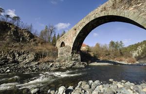 Ponte antico sul torrente Orba