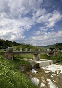 Ponte sul torrente Grue