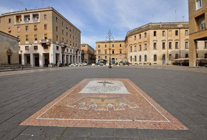 lo stemma di Piazza Sant'Oronzo