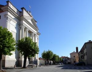 Ozegna e la sua Piazza Umberto I
