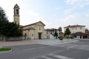 La piazza della Chiesa