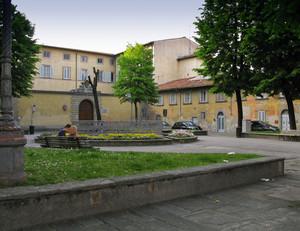 La piazza del Cardinale