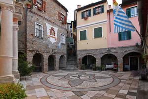 Piazza San Martino a Seborga