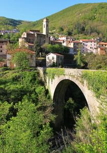 Lavina, ponte sulla Giara di Rezzo
