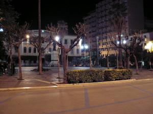 piazza Vittorio Veneto in notturna