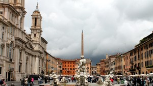 I colori di Piazza Navona