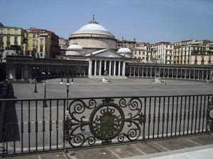 Piazza Plebiscito da Palazzo Reale