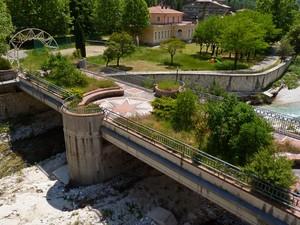 Giardino sul ponte