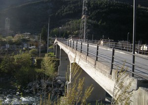 Salbertrand, ponte sulla Dora Riparia