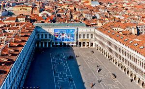 Veduta aerea di Piazza San Marco