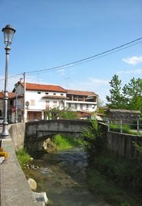 Prato Sesia Ponticello sul Torrente Roccia