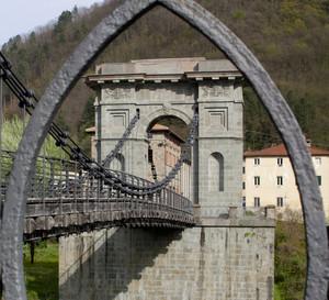 un quadro di ponte
