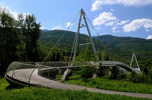 Un ponte verso Albosaggia