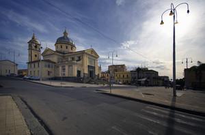 La Piazza e il Duomo di San Leonardo Abate