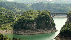 Doppio ponte sulla Forra di Castellaz