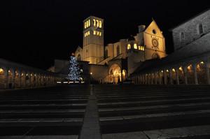 Assisi la sera di Natale