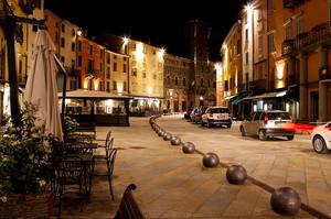 Porretta Terme by night