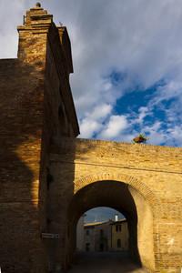 Ponte d'ingresso al Borgo
