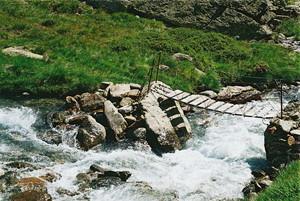 Il ponte sul Rabbies