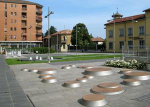 Cerchi in Piazza Risorgimento