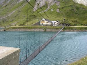 Ponte sul lago di Morasco, 1