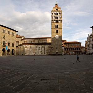 La panoramica di piazza Duomo
