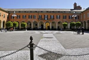 Piazza Cavour a Levanto