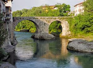 Ponte romano sul Brembo a Brembate